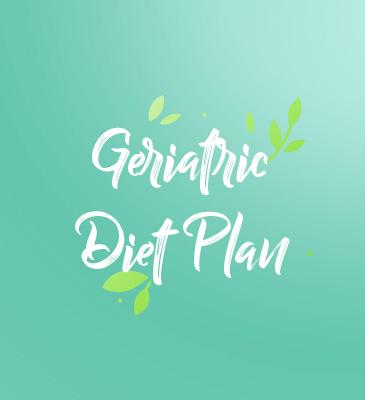 Geriatric Diet Plan
